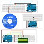 UNIROI Arduino UNO Starter Kit pour Débutant, Amélioré Kit de Démarrage Projet pour Arduino UNO R3 Mega 2560 Robot Nano Breadbroad Kit avec Support RAB, Tutoriels Gratuits UA005 de la marque UNIROI image 2 produit