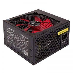 Unykach 52035600W ATX Noir, Rouge Unité de Bloc d'alimentation (20+ 4Broches ATX, 12V, 3,3V, 5V, 5Vsb, 12V, ATX, PC, Noir, Rouge, Supérieur) de la marque UNYKAch image 0 produit