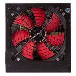 Unykach 52035600W ATX Noir, Rouge Unité de Bloc d'alimentation (20+ 4Broches ATX, 12V, 3,3V, 5V, 5Vsb, 12V, ATX, PC, Noir, Rouge, Supérieur) de la marque UNYKAch image 2 produit