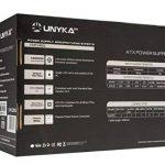 Unykach 52035600W ATX Noir, Rouge Unité de Bloc d'alimentation (20+ 4Broches ATX, 12V, 3,3V, 5V, 5Vsb, 12V, ATX, PC, Noir, Rouge, Supérieur) de la marque UNYKAch image 4 produit