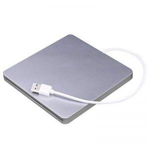 USB External Slot DVD CD RW Graveur de Lecteur Super Slim Drive Lecteur de DVD Externe Portable pour Apple pour Mac de la marque Detectoy image 0 produit
