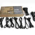 XFX P1-460F-XTSX Alimentation PC ATX 460W 80+ Platinum Modulaire Fanless garantie 5ans de la marque XFX image 4 produit