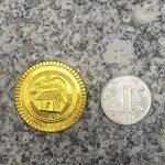 Yeahibaby 100 Pcs Pirate Party Gold Coins Pirates Gold Coins Favor de la marque Yeahibaby image 3 produit